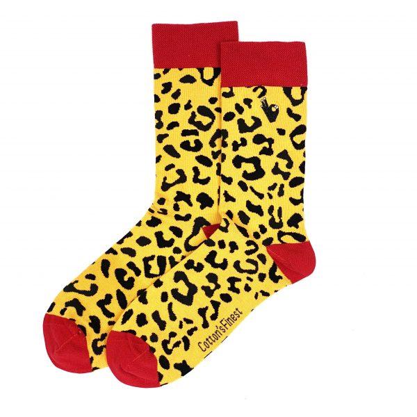 Leopard sokken